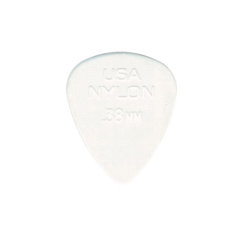 Dunlop Nylon Pick 0.38mm