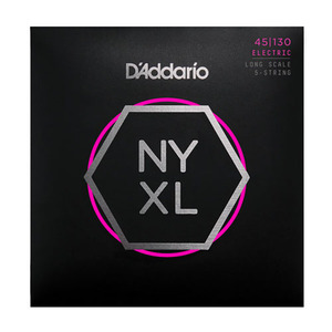 D'Addario ELECTRIC BASS GUITAR STRING NYXL45130(5현)