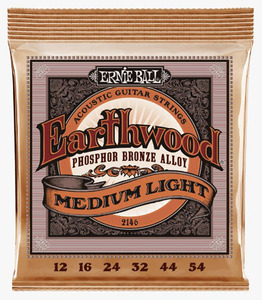 ERNIE BALL EARTHWOOD PHOSPHOR BRONZE ACOUSTIC