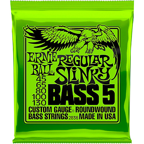 ERNIEBALL REGULAR SLINKY 5-STRING NICKEL WOUND(5현)